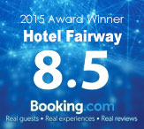 Booking.com-Award of Excellence, Rating 8.5 out of 10