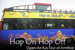 Double Decker Bus Tour of Amritsar